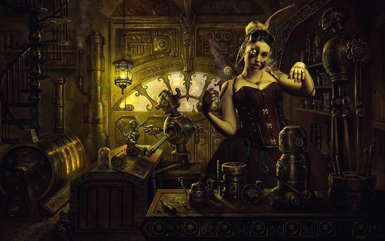 Steampunk montage