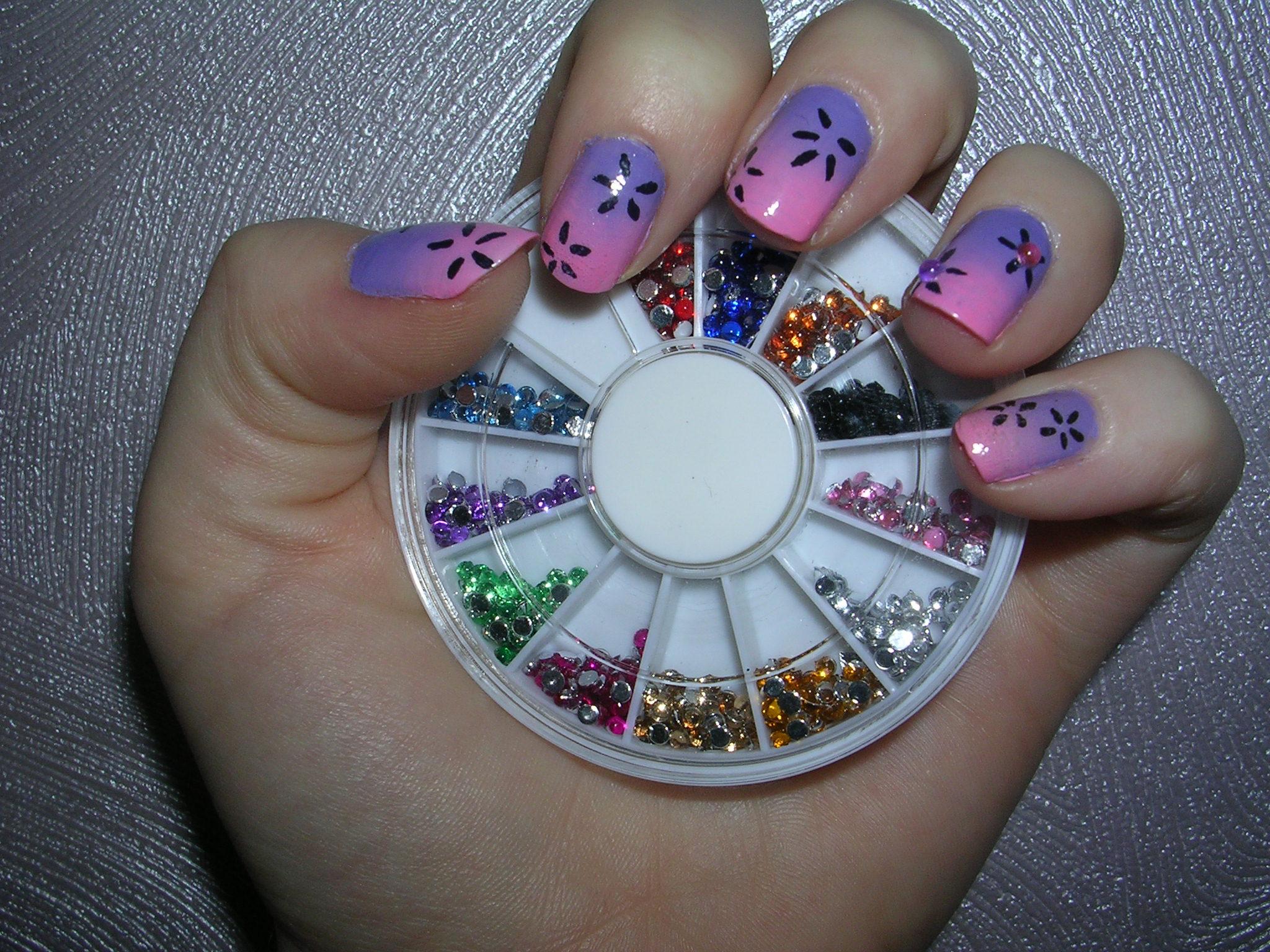 nail art 3 par Violette Sucrée