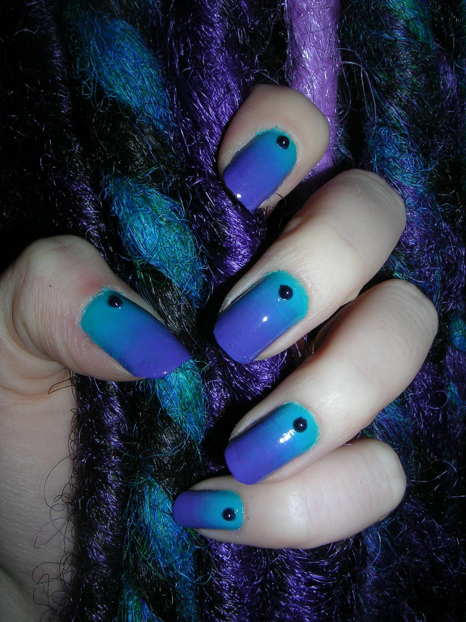 nail art 2 par Violette Sucrée