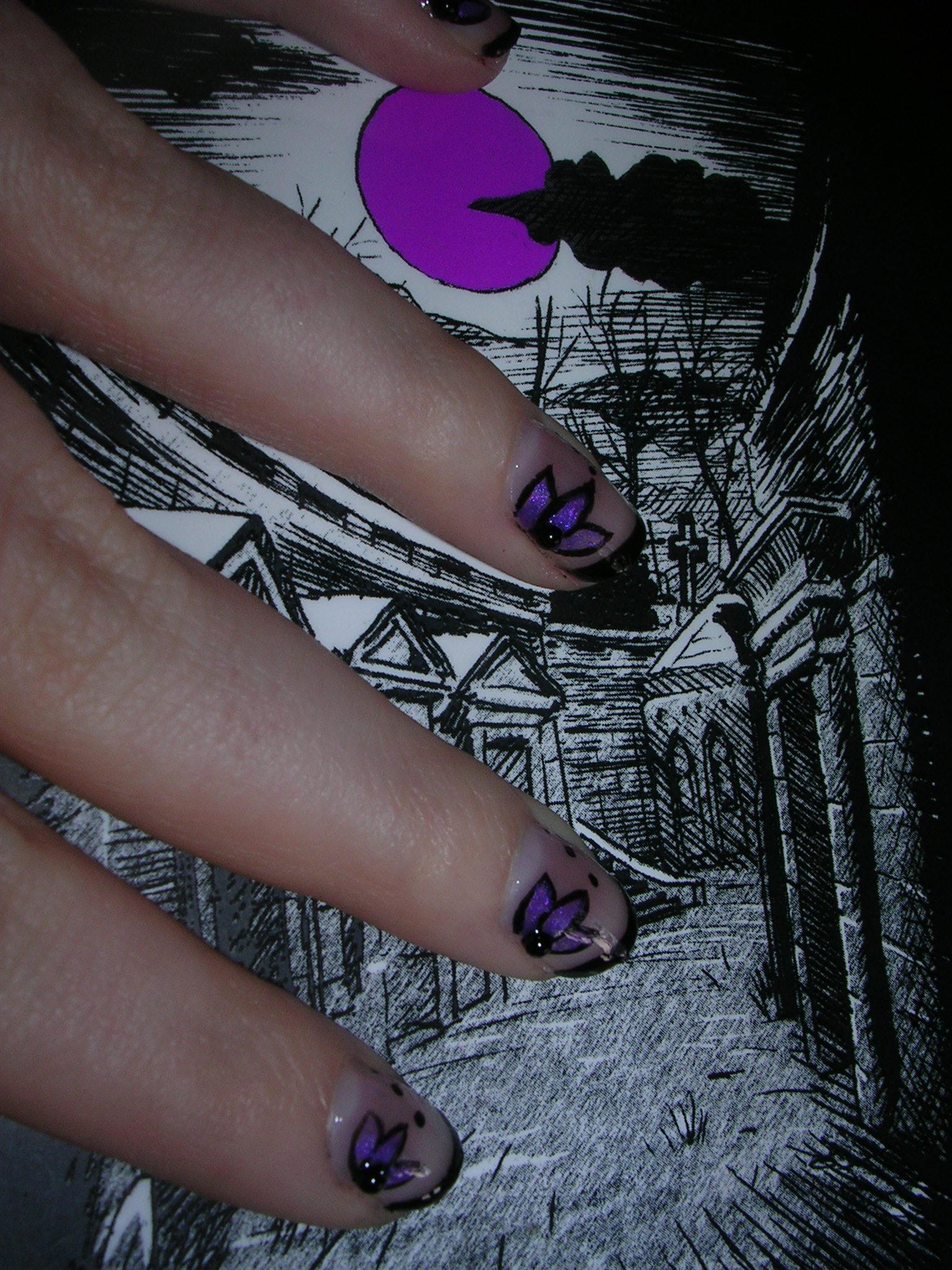 nail art 6 par Violette Sucrée