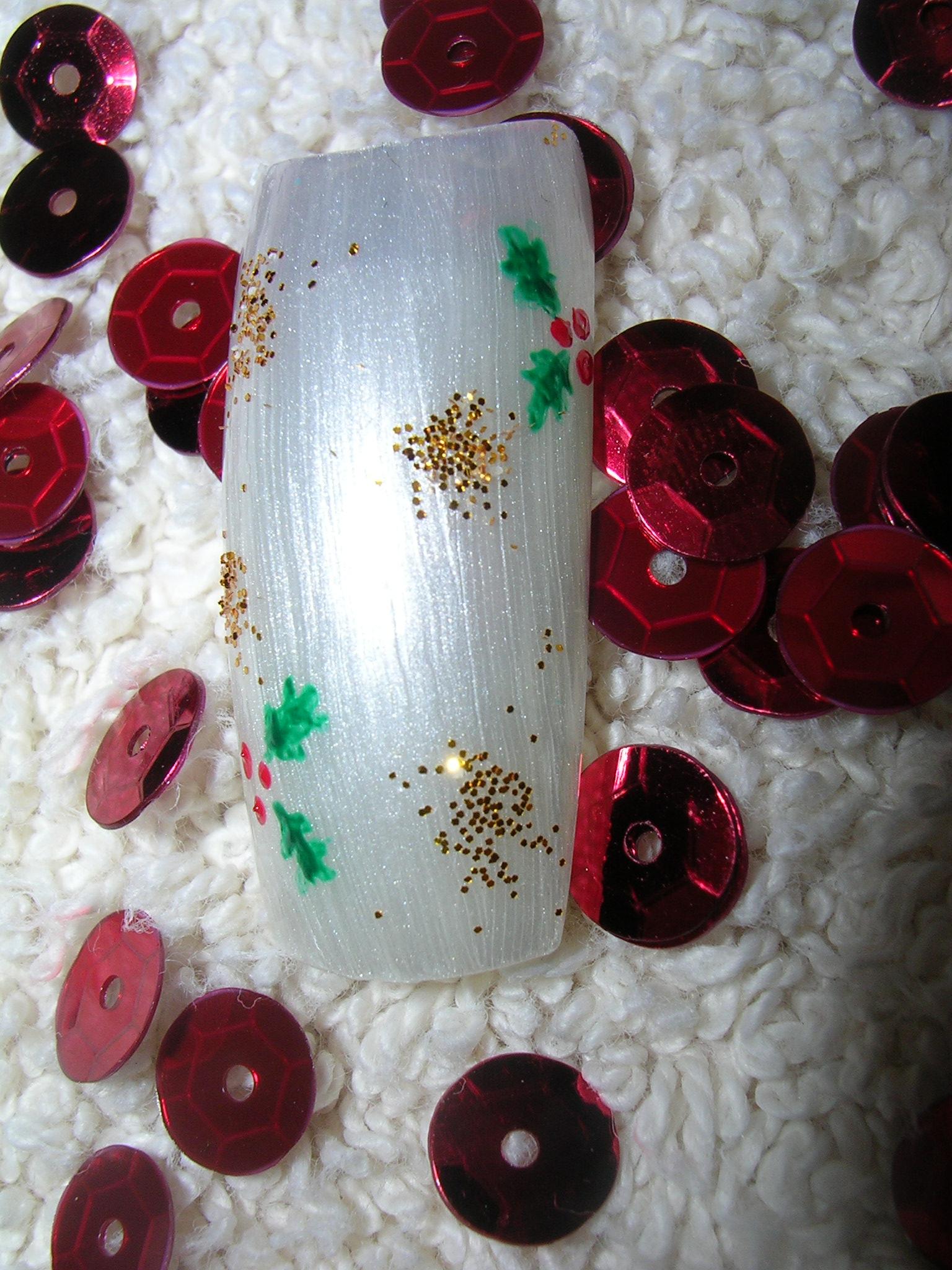 nail art 12 par Violette Sucrée