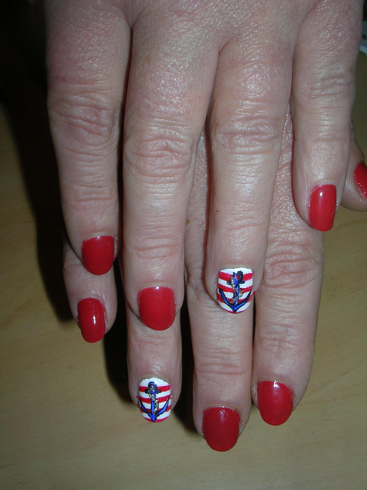 nail art 17 par Violette Sucrée