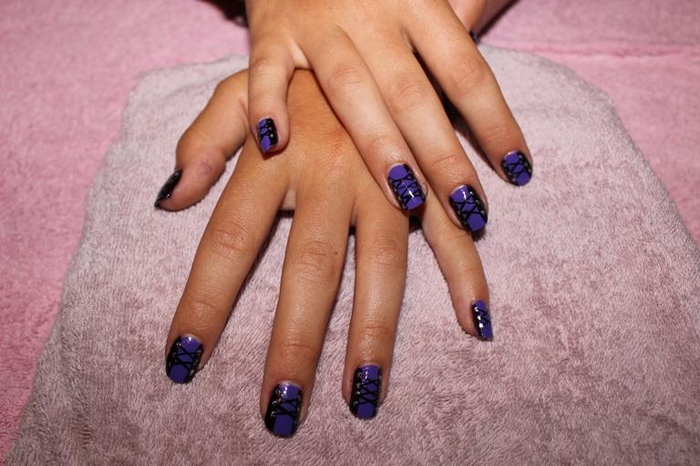 nail art 8 par Violette Sucrée