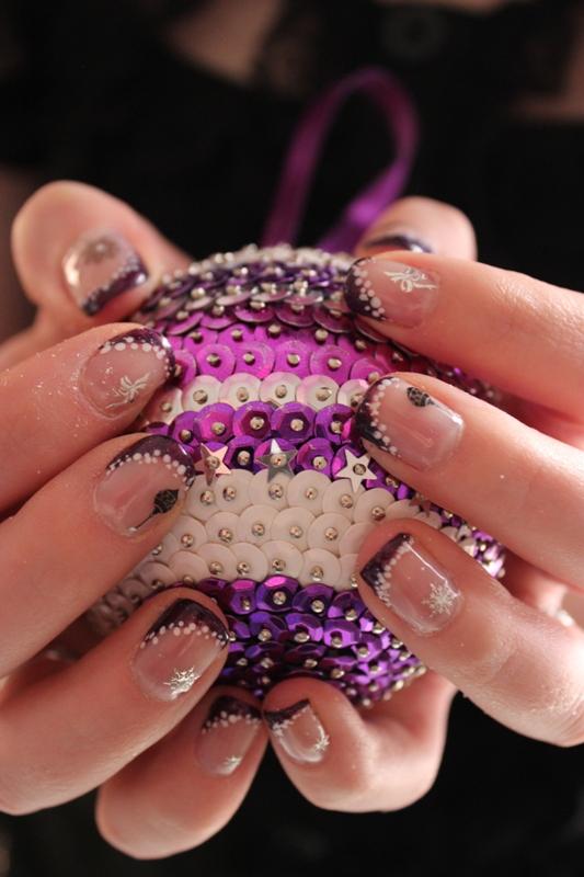 nail art 18 par Violette Sucrée