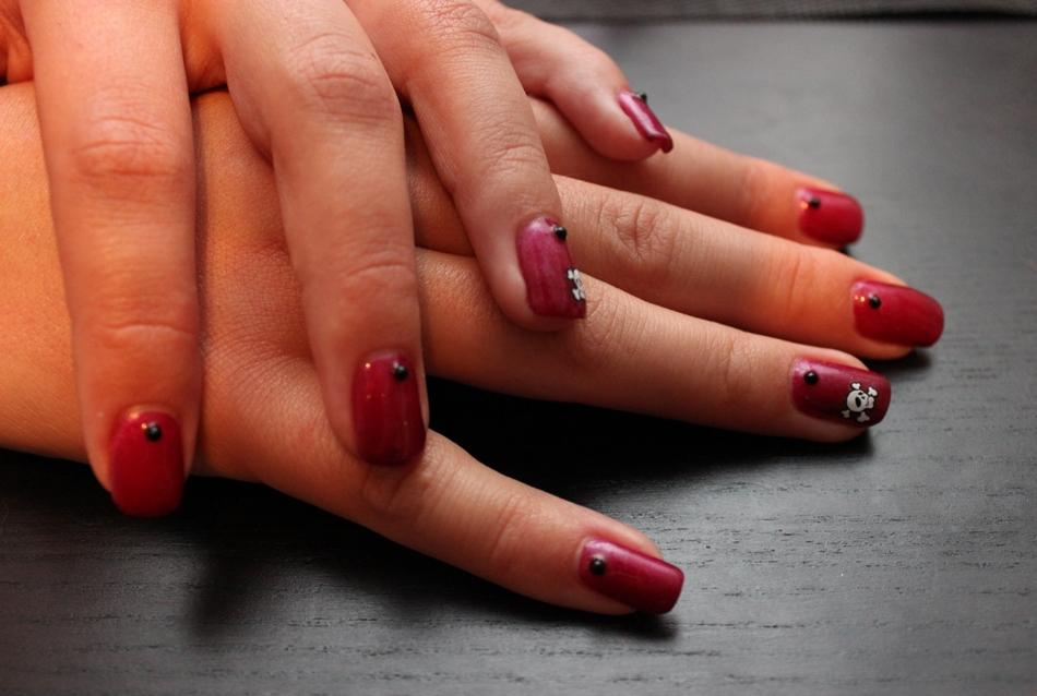 nail art 27 par Violette Sucrée