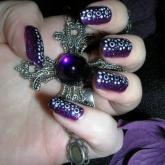 nail art 16 par Violette Sucrée