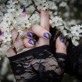 nail art 4 par Violette Sucrée
