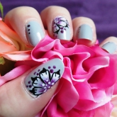 nail art 22 par Violette Sucrée