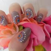 nail art 23 par Violette Sucrée