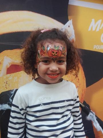 grimage maquillage enfant moselle halloween
