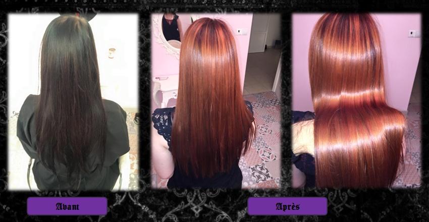 Violette Sucrée Cheveux