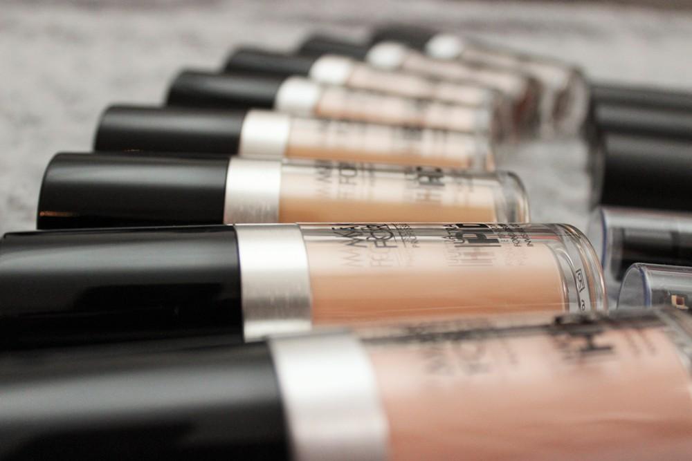 maquillage pro violette sucrée