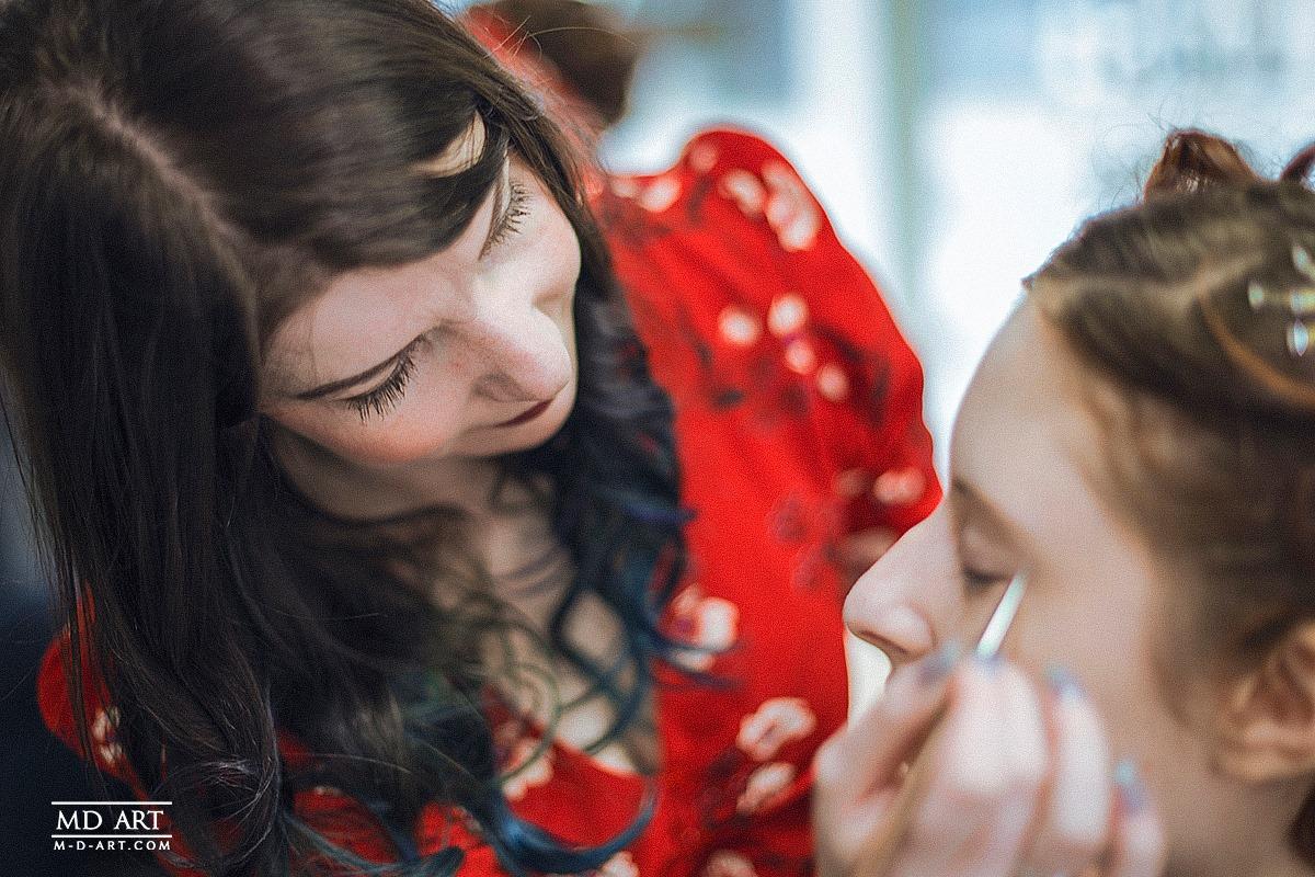 métier maquilleuse de mariage