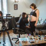 Reportage Belly painting par Vià Mirabelle