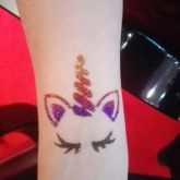 animation enfant tatouage paillettes moselle