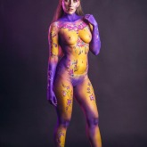 Body painting carnaval