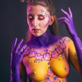 Body painting Moselle