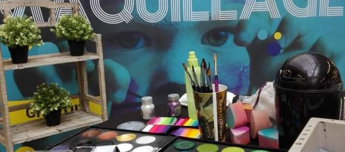 posca maquillage maquilleur maquilleuse