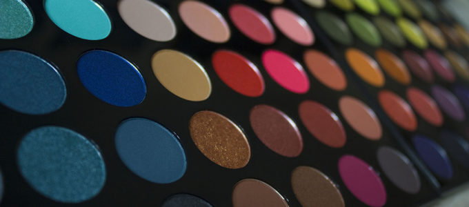 palette fards morphe maquilleuse