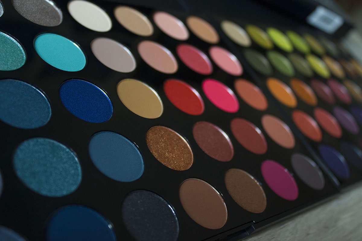palettes fards morphe maquilleuse