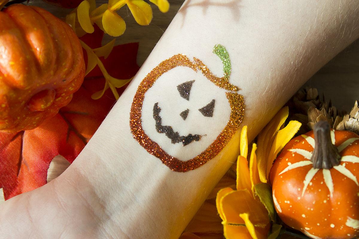 tatouage halloween citrouille stand animation lorraine moselle
