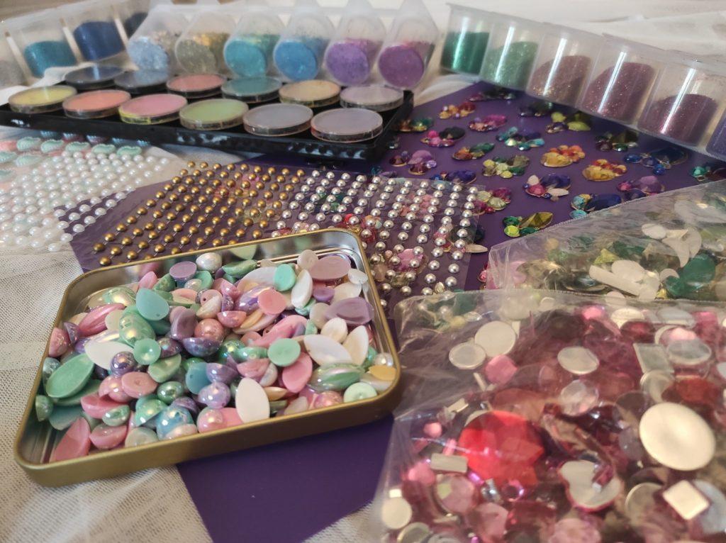 animation maquillage paillette salon foire événement boite de nuit