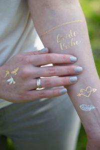 animation bar à tattoo mariage