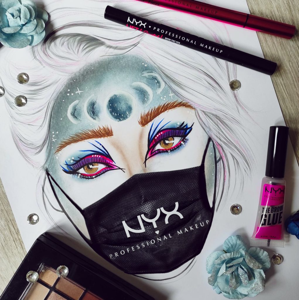 nyx concours face chart awards